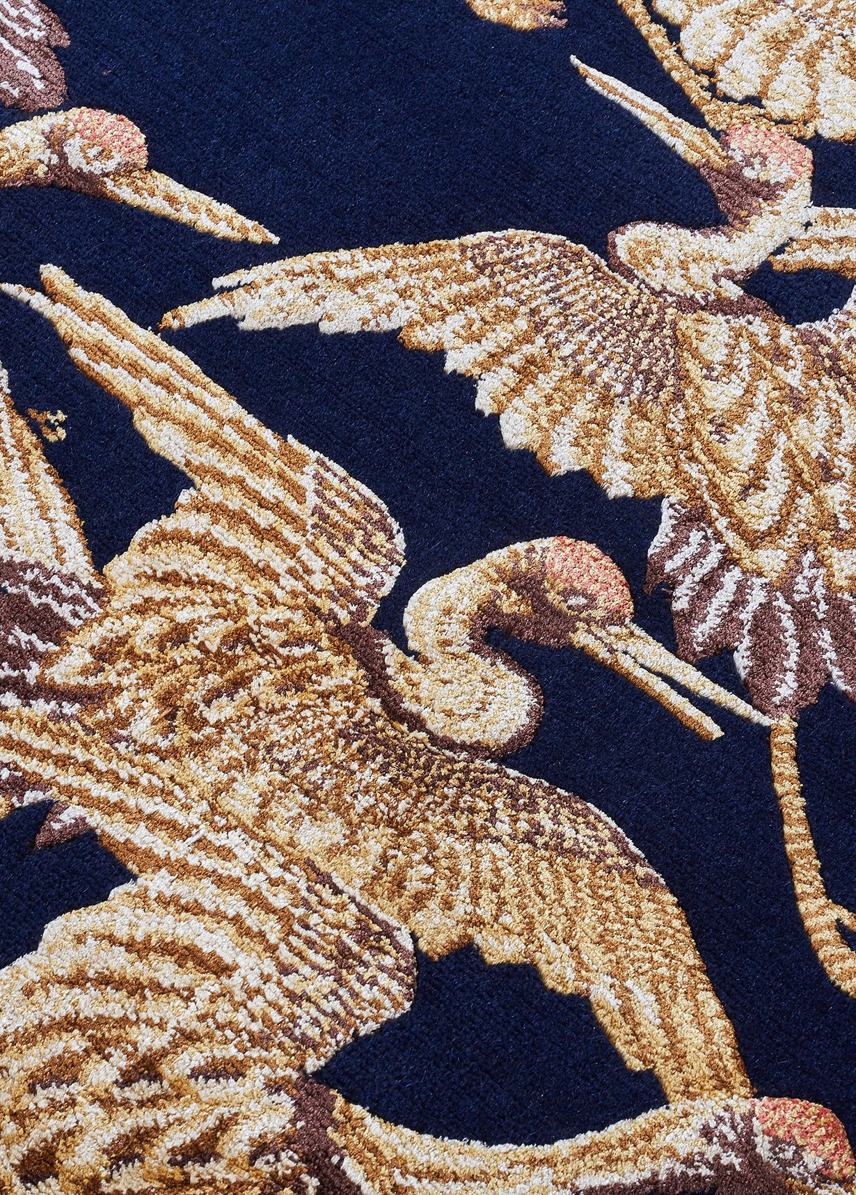 Cranes from the V&A Rug Collection