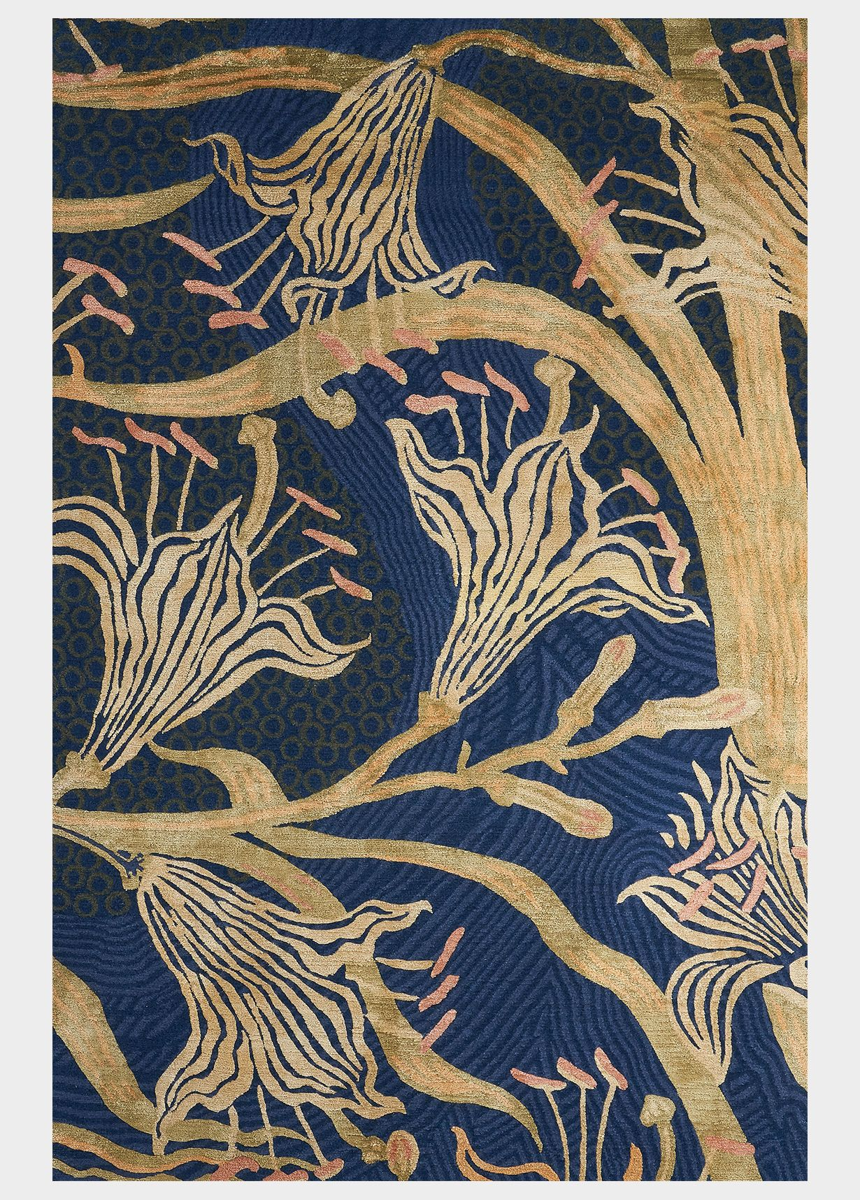 Day Lily from the V&A Rug Collection